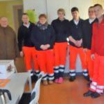 CDA-Erzgebirge überreichte den Kollegen der Polizei und der Rettungswachen Präsente zu Weihnachten